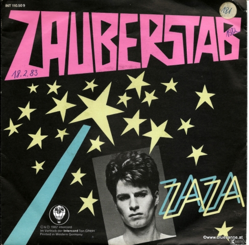 ZaZa – Zauberstab 1982 Single