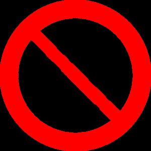 Händeschütteln Verbot